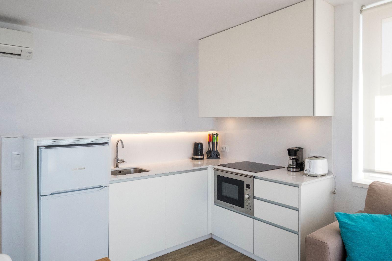 Apartamento de 1 dormitorio con vistas al mar - Apartamentos Playa de Canutells